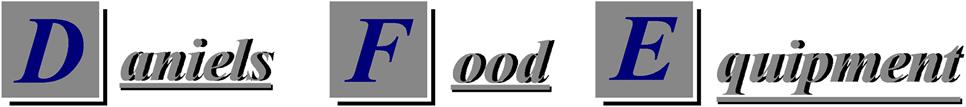 Daniels Food Equiptment logo