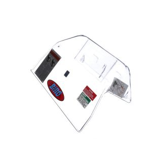 BIRO TA3096M-2 TRANSPARENT SAFETY COVER W/ MAGNET & LABELS